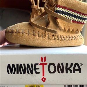 Minnetonka booties